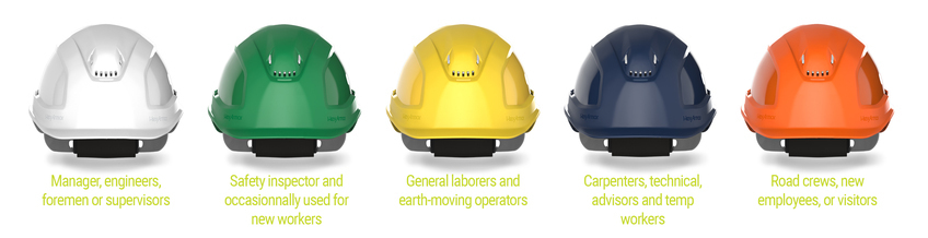 What Do Safety Helmet Colors Mean Anyway?