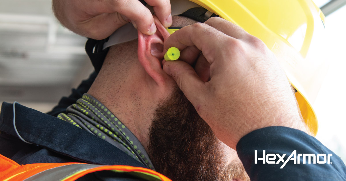 How to properly insert your hearing protection