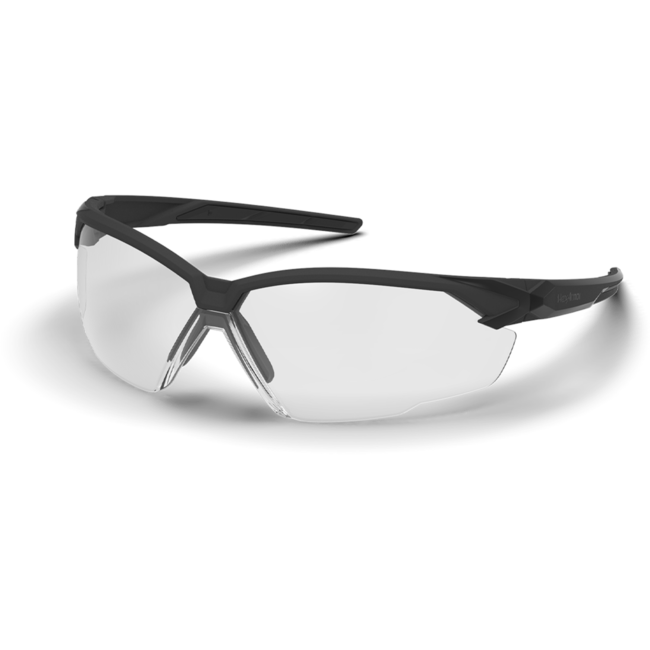 X1 clear safety glasses standard view