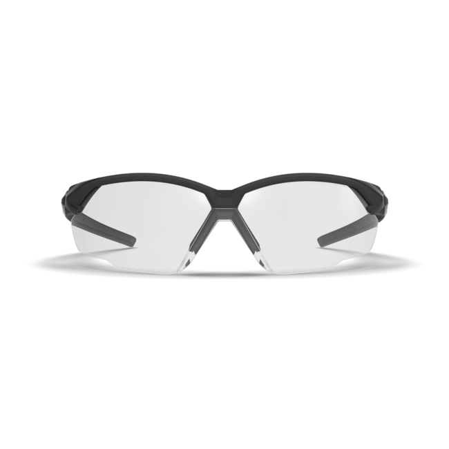 X1 clear safety glasses front view