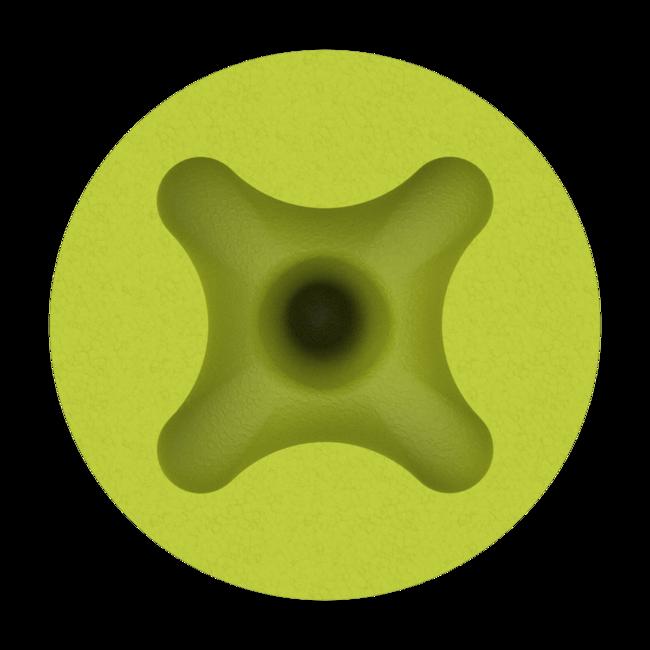 accuFit medium disposable earplugs under view