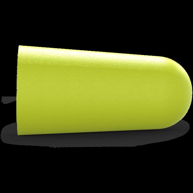 accuFit medium disposable earplugs side view