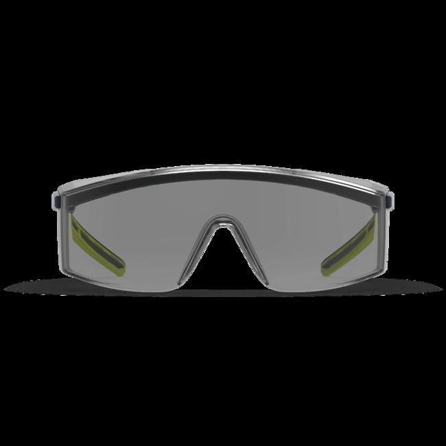 lt200 grey otg safety glasses front view
