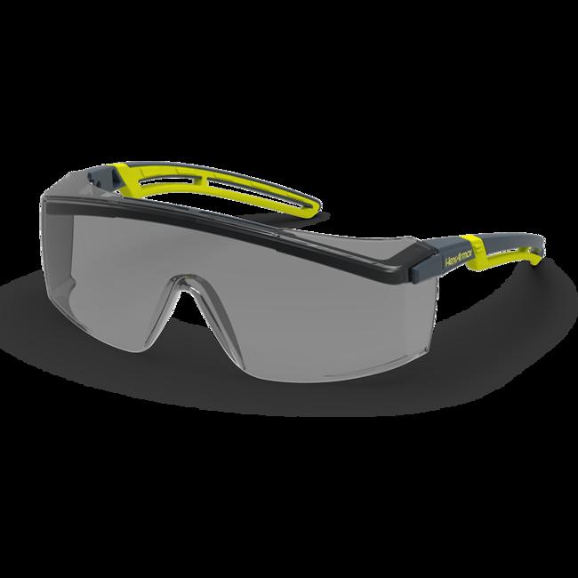 lt200 grey otg safety glasses standard view