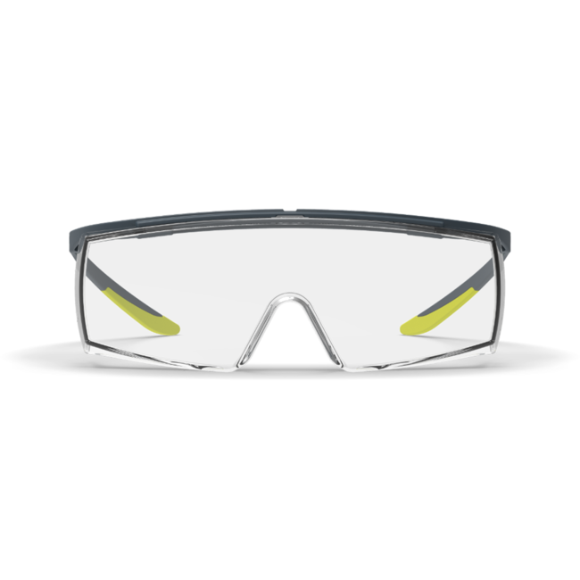 lt250 clear otg safety glasses front view