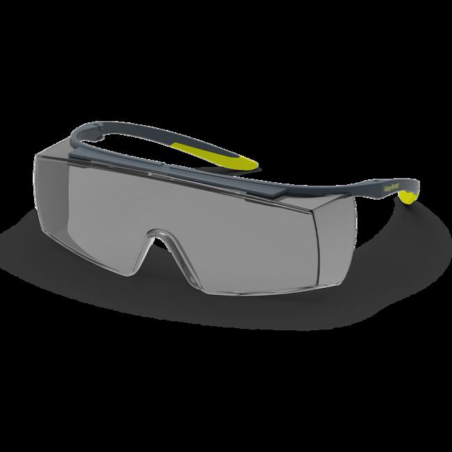 lt250 grey otg safety glasses standard view