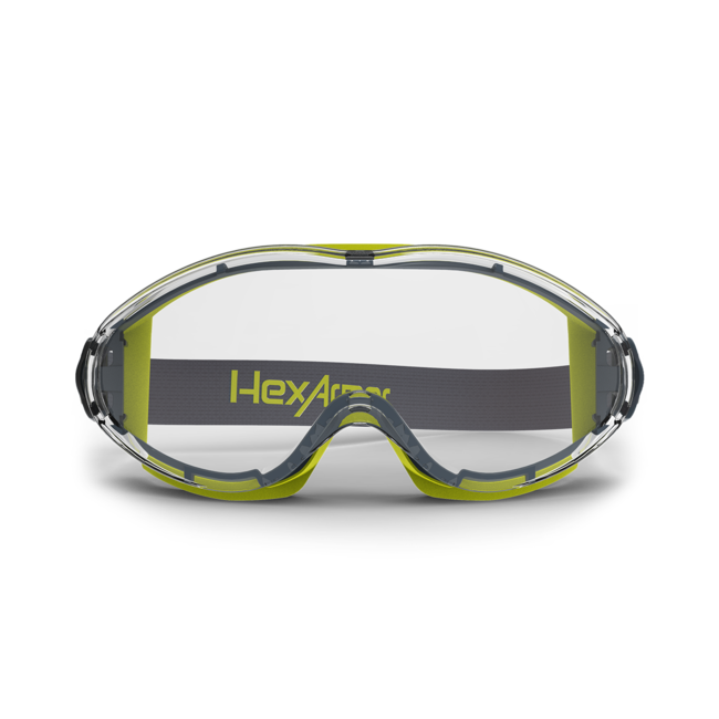 lt300 clear otg safety goggles front view