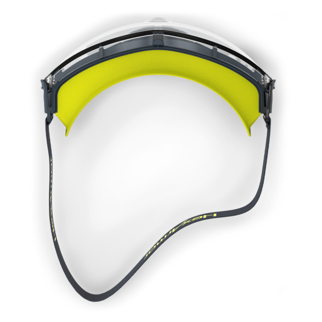 lt300 clear otg safety goggles top view