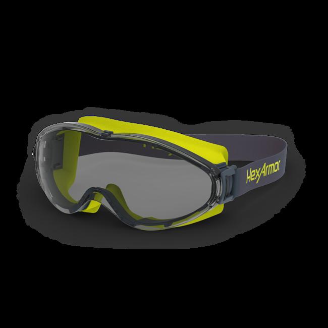lt300 grey otg safety goggles standard view