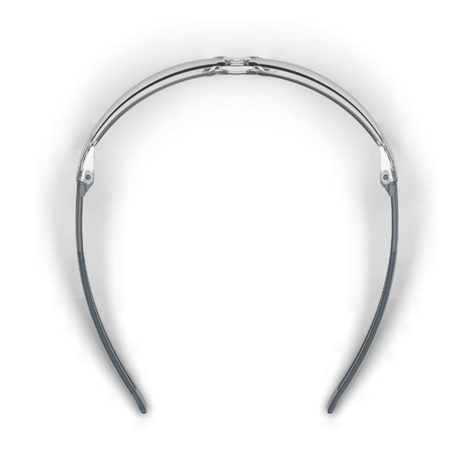 lt400 clear safety glasses top view