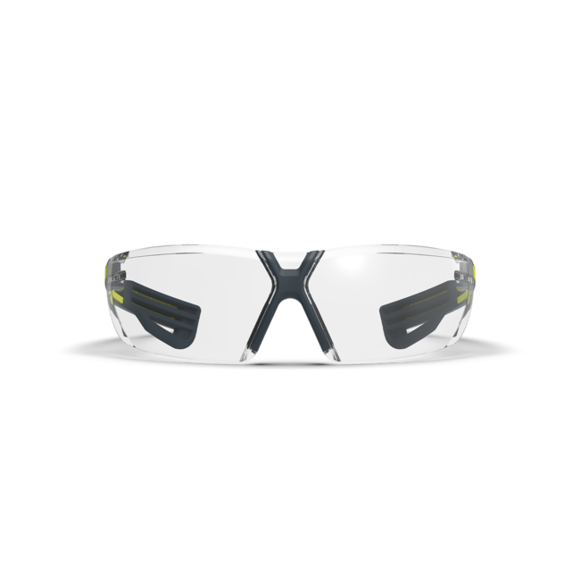 lt450 clear safety glasses front view