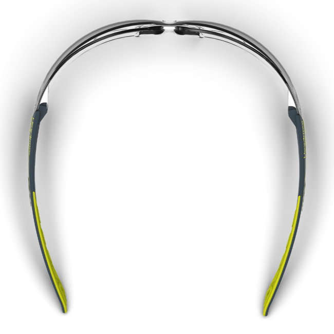 mx200 clear safety glasses top view