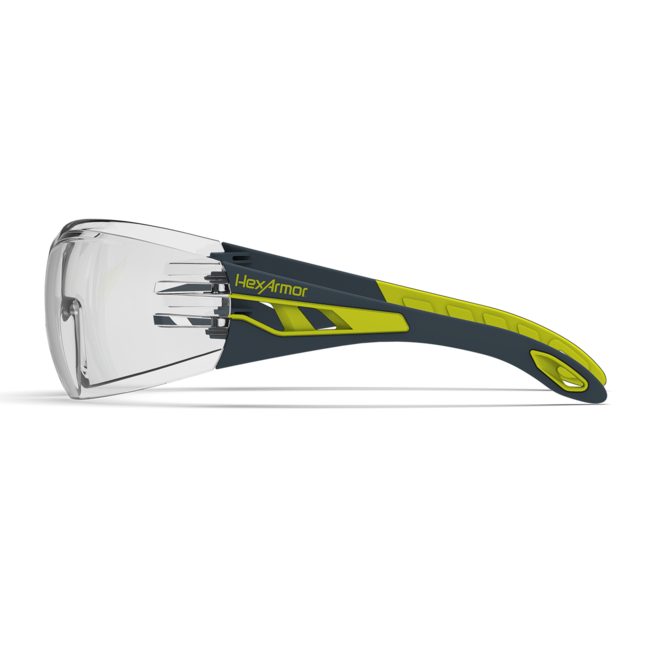 mx200 clear safety glasses side view