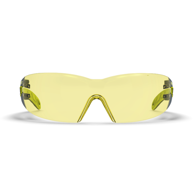 mx200 amber safety glasses front view