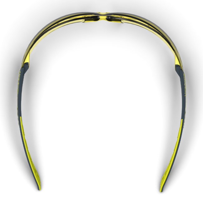 mx200 amber safety glasses top view