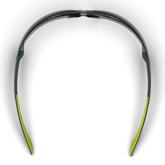mx200 grey safety glasses top view