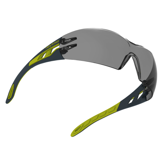 mx200 grey safety glasses float view
