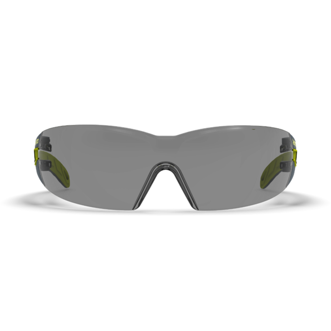 mx200 grey safety glasses front view