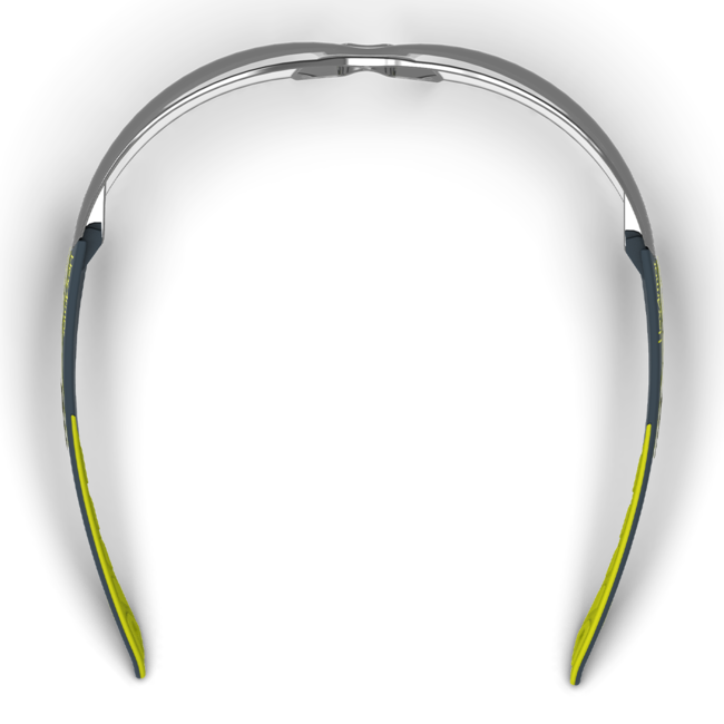 mx200 silver mirror safety glasses top view
