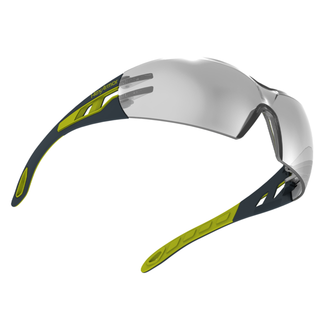 mx200 silver mirror safety glasses float view