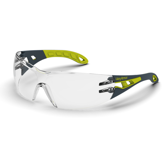 mx200s clear safety glasses standard view