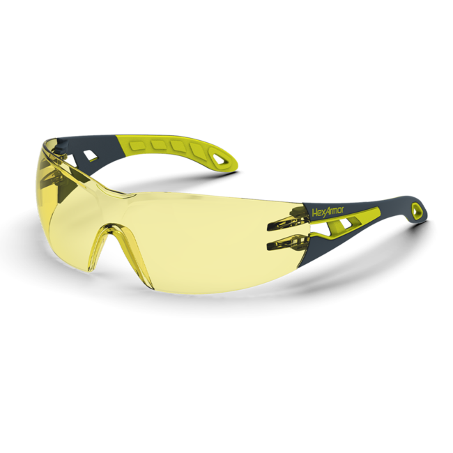 mx200s amber safety glasses standard view