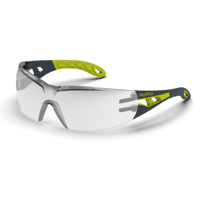 mx200s silver mirror safety glasses standard view