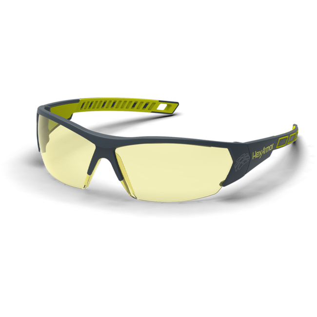 mx250 amber safety glasses standard view