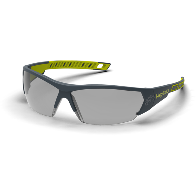 mx250 grey safety glasses standard view
