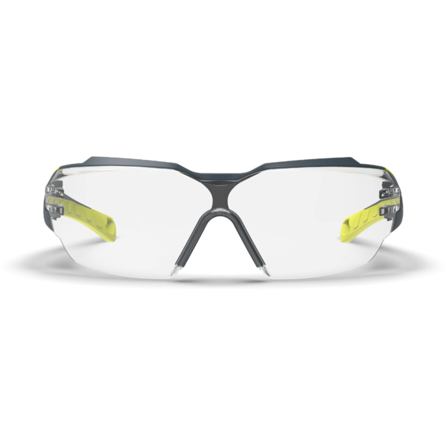 mx300 clear safety glasses front view