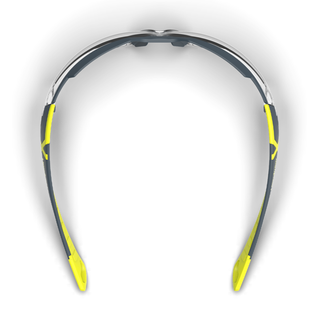 mx300 clear safety glasses top view
