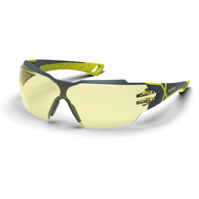 mx300 amber safety glasses standard view