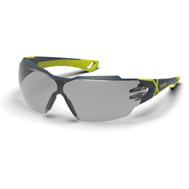 mx300 grey safety glasses standard view