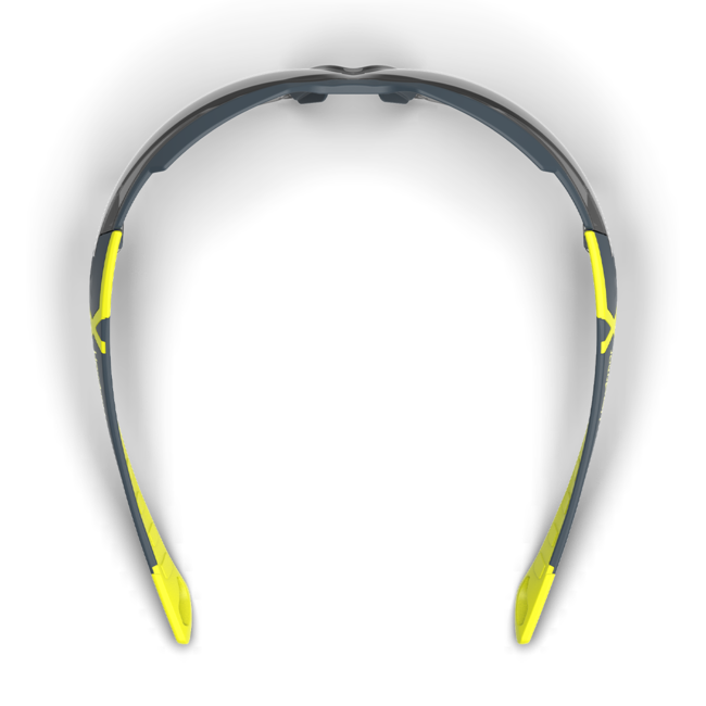 mx300 grey safety glasses top view