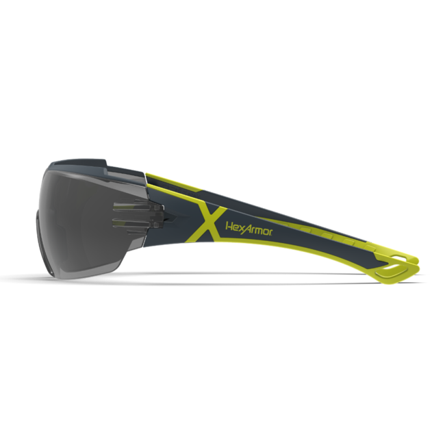 mx300 grey safety glasses side view