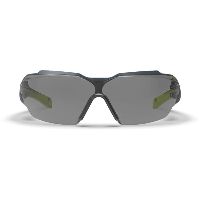 mx300 grey safety glasses front view