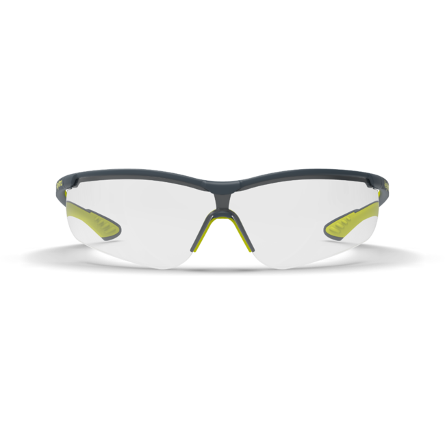 vs250 clear safety glasses front view