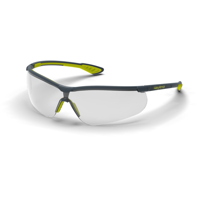 vs250 clear safety glasses standard view