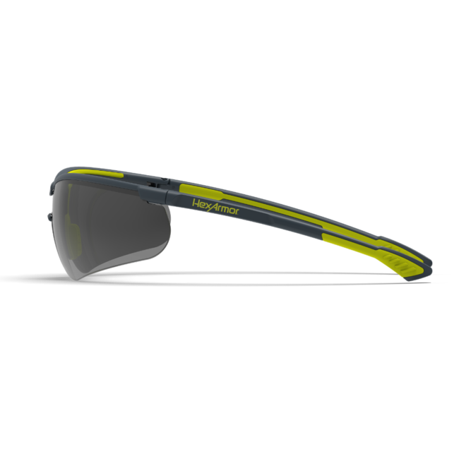vs250 grey safety glasses side view