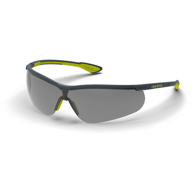 vs250 grey safety glasses standard view