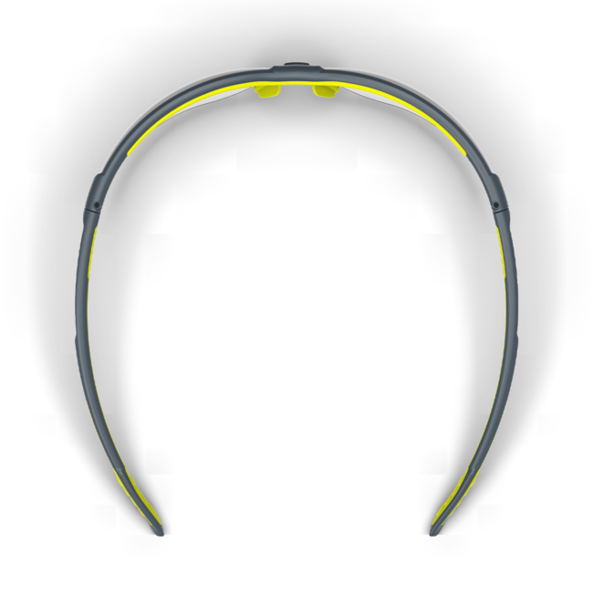 vs250 clear safety glasses top view