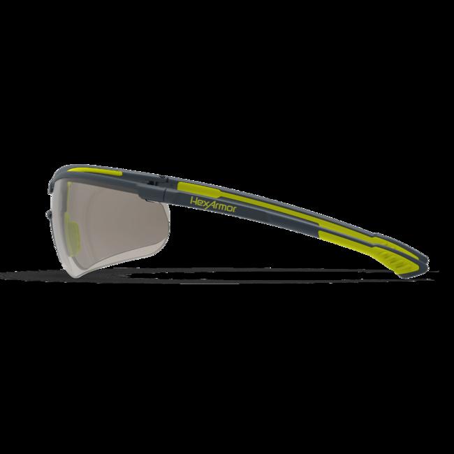 vs250 blue light safety glasses side view