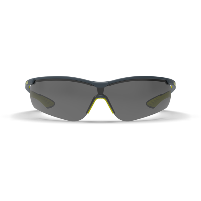 vs250 grey safety glasses front view