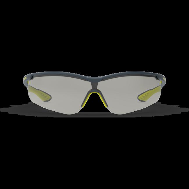 vs250 variomatic dark safety glasses front view