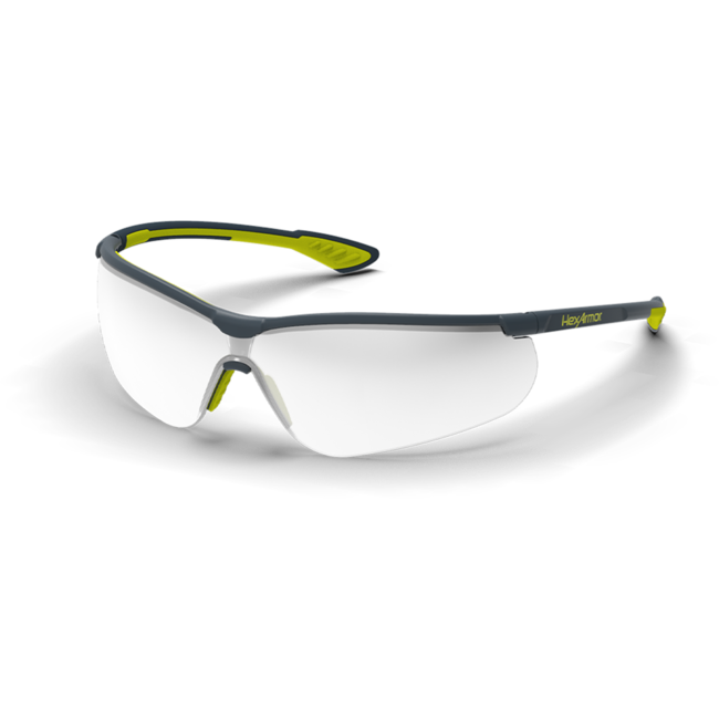 vs250 silver mirror safety glasses standard view