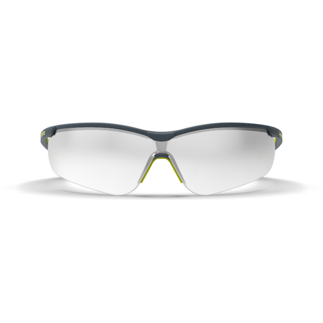 vs250 silver mirror safety glasses front view
