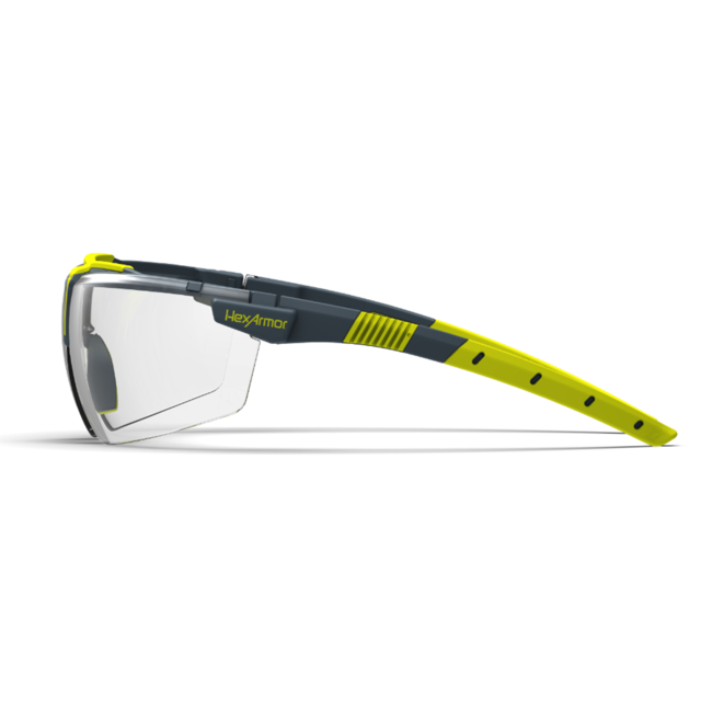 vs300 clear safety glasses side view
