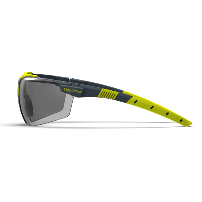 vs300 grey safety glasses side view