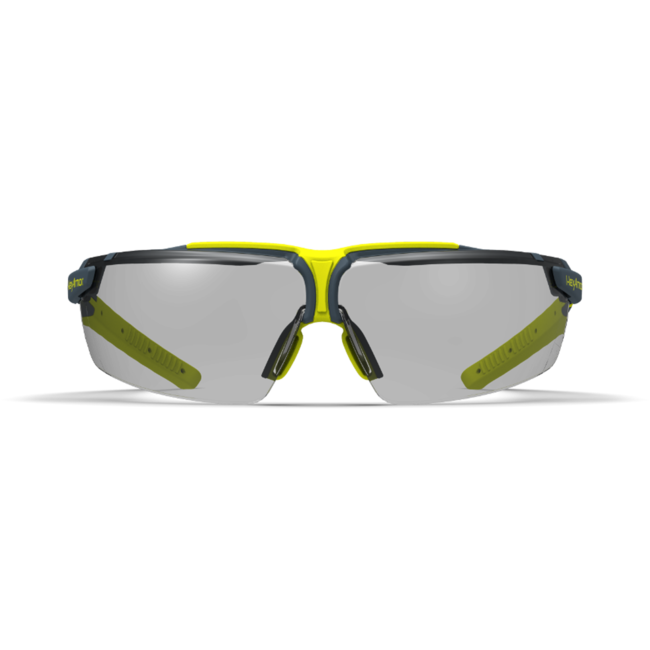 vs300 grey safety glasses front view