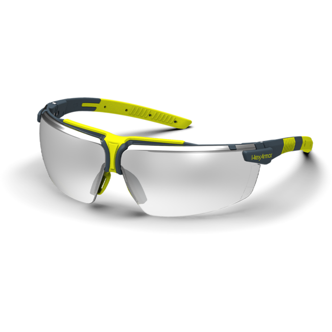 vs300 silver mirror safety glasses standard view